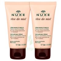 Rêve De Miel® Crème Mains Et Ongles 2*50ml à Chelles