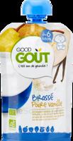 Good Goût Alimentation Infantile Brassé Poire Vanille Gourde/90g à Chelles