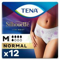 Tena Lady Silhouette Slip Absorbant Blanc Normal Médium Paquet/12 à Chelles