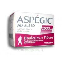 Aspegic Adultes 1000 Mg, Poudre Pour Solution Buvable En Sachet-dose 20 à Chelles