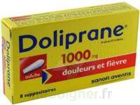 Doliprane 1000 Mg Suppositoires Adulte 2plq/4 (8) à Chelles