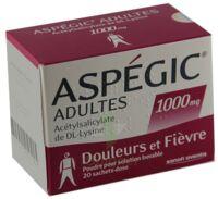 Aspegic Adultes 1000 Mg, Poudre Pour Solution Buvable En Sachet-dose 15 à Chelles