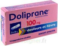 Doliprane 100 Mg Suppositoires Sécables 2plq/5 (10) à Chelles