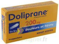 Doliprane 200 Mg Suppositoires 2plq/5 (10) à Chelles