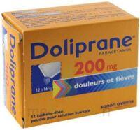 Doliprane 200 Mg Poudre Pour Solution Buvable En Sachet-dose B/12 à Chelles