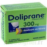 Doliprane 300 Mg Poudre Pour Solution Buvable En Sachet-dose B/12 à Chelles