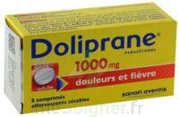 Doliprane 1000 Mg Comprimés Effervescents Sécables T/8 à Chelles