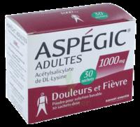 Aspegic Adultes 1000 Mg, Poudre Pour Solution Buvable En Sachet-dose 30 à Chelles