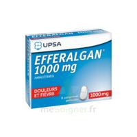 Efferalgan 1000 Mg Comprimés Pelliculés Plq/8 à Chelles