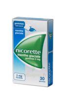 Nicorette 2 Mg Gom à Mâcher Médic Sans Sucre Menthe Glaciale Plq/30gom à Chelles