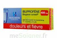 Ibuprofene Biogaran Conseil 400 Mg, Comprimé Pelliculé à Chelles