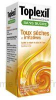 TOPLEXIL 0,33 mg/ml sans sucre solution buvable 150ml à Chelles
