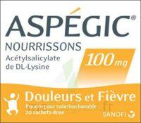 Aspegic Nourrissons 100 Mg, Poudre Pour Solution Buvable En Sachet-dose à Chelles
