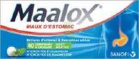 MAALOX HYDROXYDE D'ALUMINIUM/HYDROXYDE DE MAGNESIUM 400 mg/400 mg Cpr à croquer maux d'estomac Plq/40 à Chelles