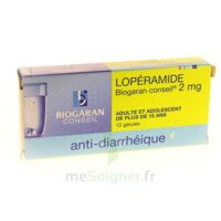 LOPERAMIDE BIOGARAN CONSEIL 2 mg, gélule à Chelles