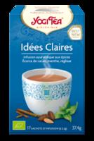 Yogi Tea Tisane AyurvÉdique IdÉes Claires Bio 17sach/2,2g à Chelles