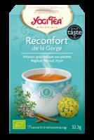 Yogi Tea Tisane Ayurvédique Réconfort De La Gorge Bio 17 Sachets/1,8g à Chelles