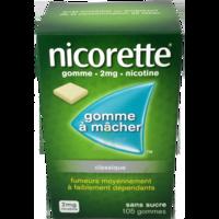 Nicorette 2 Mg Gom à Mâcher Médic Sans Sucre Menthe Fraîche Plq/105gom à Chelles