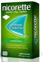 Nicorette 2 Mg Gom à Mâcher Médic Sans Sucre Menthe Fraîche Plq/30gom à Chelles