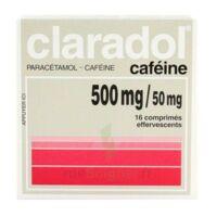 Claradol Cafeine 500 Mg/50 Mg, Comprimé Effervescent à Chelles