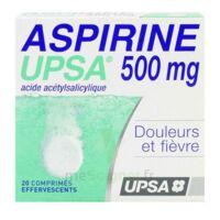 Aspirine Upsa 500 Mg, Comprimé Effervescent à Chelles