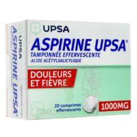 Aspirine Upsa Tamponnee Effervescente 1000 Mg, Comprimé Effervescent à Chelles