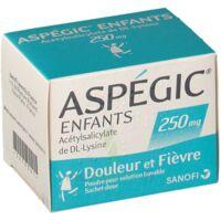 Aspegic Enfants 250, Poudre Pour Solution Buvable En Sachet-dose à Chelles