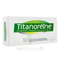 TITANOREINE Suppositoires B/12 à Chelles