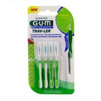 GUM TRAV - LER, 1,1 mm, manche vert , blister 4 à Chelles