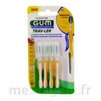 GUM TRAV - LER, 1,3 mm, manche jaune , blister 4 à Chelles