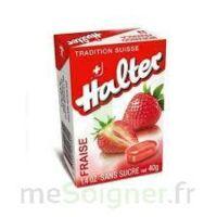 Halter Bonbon sans sucre fraise 40g à Chelles