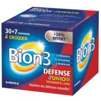 Bion 3 Défense Junior Comprimés à Croquer Framboise B/30+7 à Chelles
