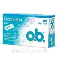 OB PRO COMFORT, light Flow , bt 16 à Chelles