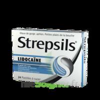 Strepsils Lidocaïne Pastilles Plq/24 à Chelles