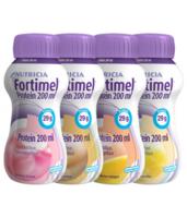 Fortimel Protein Nutriment multi saveurs caramel/vanille/fraise/mangue 4 Bouteilles/200ml à Chelles