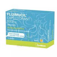 Fluimucil Expectorant Acetylcysteine 600 Mg Glé S Buv Adultes 10sach à Chelles