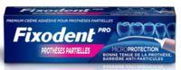 Fixodent Pro Crème Adhésive Pour Prothèse Partielle T/40g à Chelles