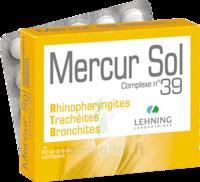 Lehning Mercur Sol Complexe N°39 Comprimés Sublinguals B/60 à Chelles
