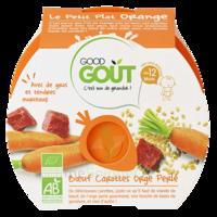 Good Goût Alimentation Infantile Boeuf Carottes Orge Perlé Assiette/220g à Chelles