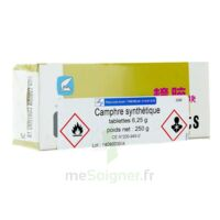 Cooper Camphre Tablettes 250g à Chelles