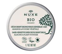 Nuxe Bio Déodorant Baume Fraîcheur 24h Peaux Sensibles Pot/50g à Chelles