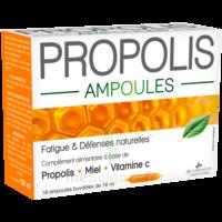 3 Chenes Propolis Solution Buvable 10 Ampoules/10ml à Chelles