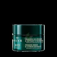 Nuxe Bio Masque Détoxifiant Eclat 50ml à Chelles